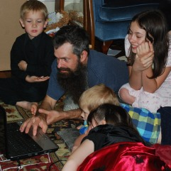 Computer games with Daddy