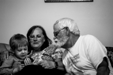 Visits from grandparents