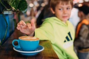 Coffee in Colorado!
