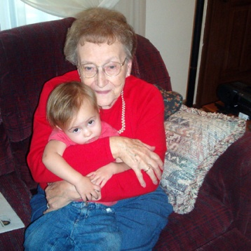 Me and Great-Grandma <3