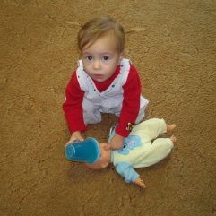Me and Jacob....we still have that baby doll!